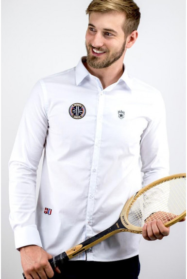 """Chemise blanche """"COURCH"""""""