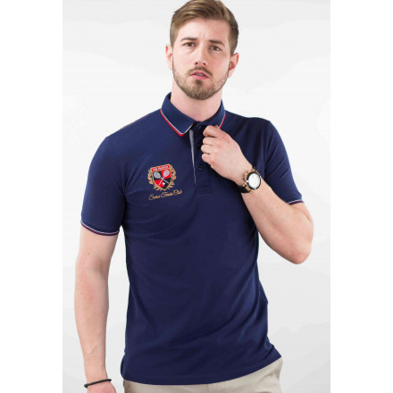 polo sport homme rouge