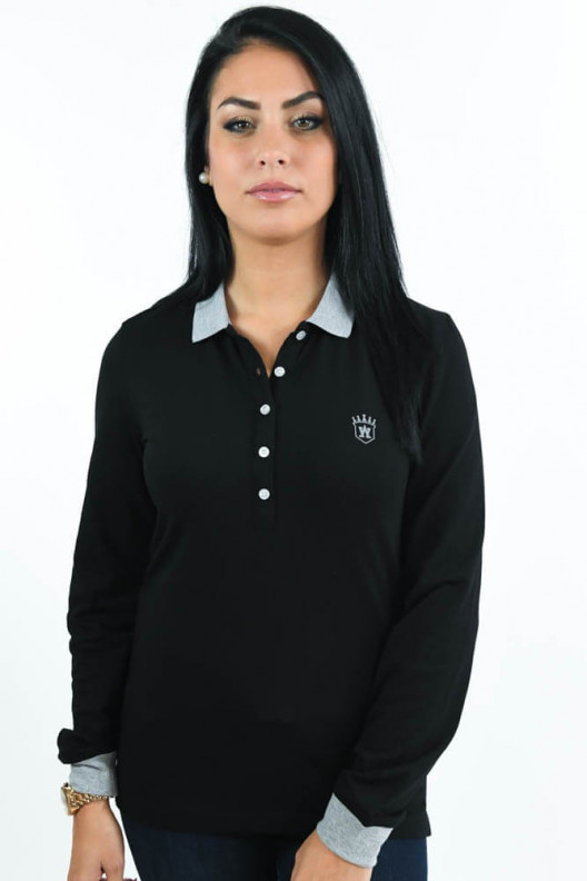 POLO BICOLORE ML JULIA
