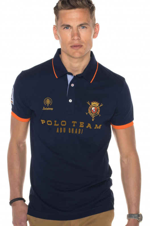 "Polo homme manches courtes ""abu"""