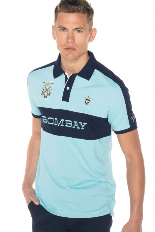 "Polo homme sport chic ""sachin"""