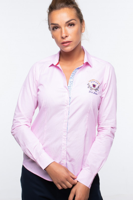 Chemise linsay - Rose