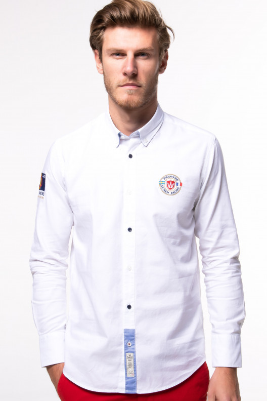 Chemise ice driving - Blanc