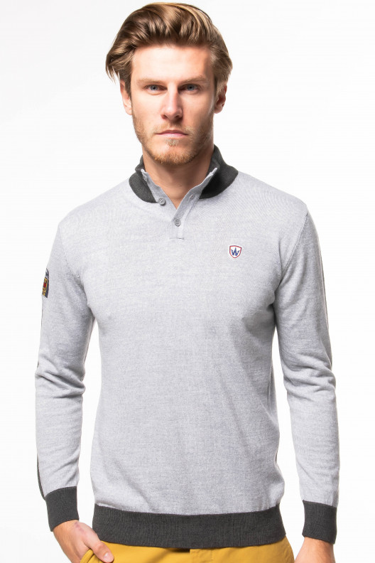 Pull pascal - Gris