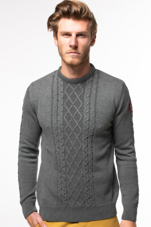 Pull grosse maille - Anthracite