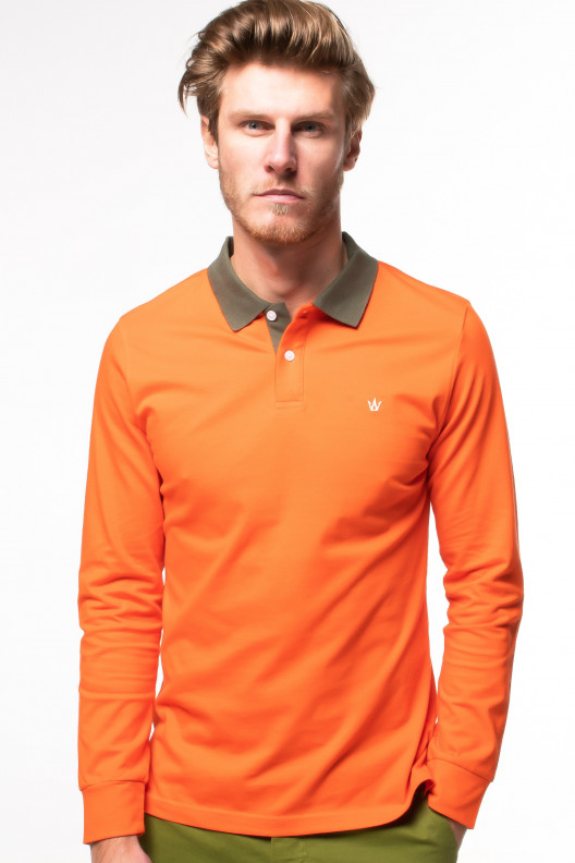 Polo panama - Orange