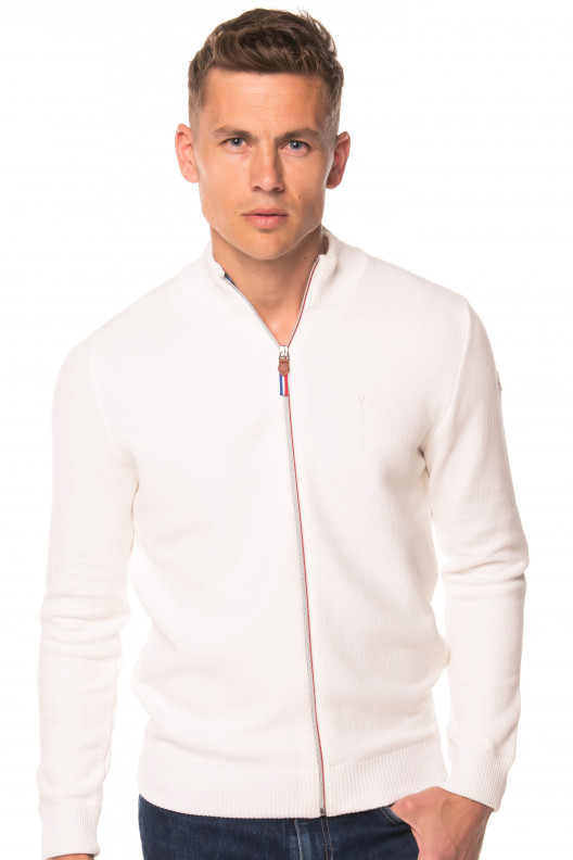 Pull veste pascal - OFFWHITE