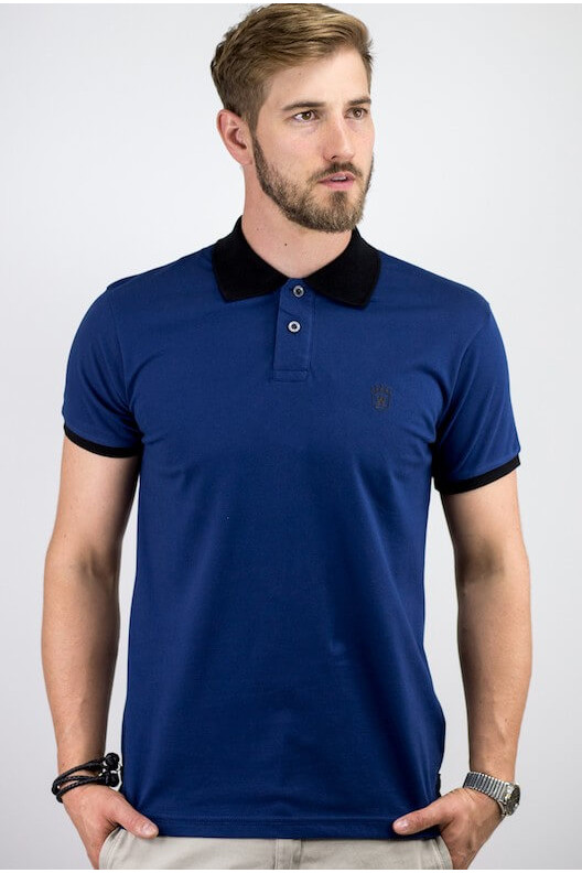 "Polo bleu sky ""ALLOVER"""